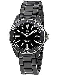 Tag Heuer Aquaracer Lady 300M 35mm Black Ceramic Watch WAY1390.BH0716