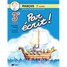 Par écrit! français 5e année (3e cycle)