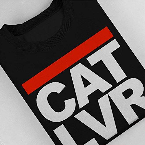 Cat Cat Logo Run Lover nero Women's DMC Sweatshirt Sweatshirt Sweatshirt zqRCw7Ux