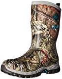 Muck Boot Women's Arctic Hunter Mid Snow Boot, Mossy Oak/Teal, 10 M US