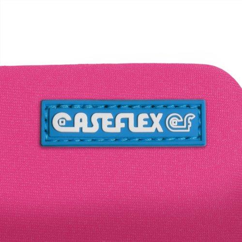 Caseflex iPhone 6S / 6 Tasche Dunkelrosa Neoprene Beutel Hülle Mit Mini Griffel Stift