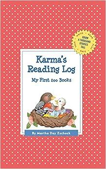 Book Karma's Reading Log: My First 200 Books (Gatst) (Grow a Thousand Stories Tall)