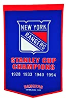 NHL New York Rangers Dynasty Banner