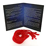 5 Kabbalah Red String Bracelets blessed in