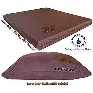 Flat Internal duvet Waterproof resistant pet dog bed internal cover for DIY Pet Bed (36X29 Internal Cover 1Pack)