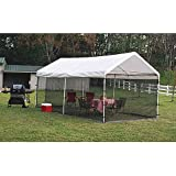 Amazon Com King Canopy Dog House Kennel Cover 10 By 10