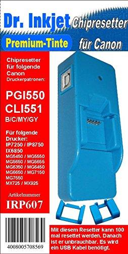irp607 - chipresetter para PGI550 y CLI551 Cartuchos de impresora ...