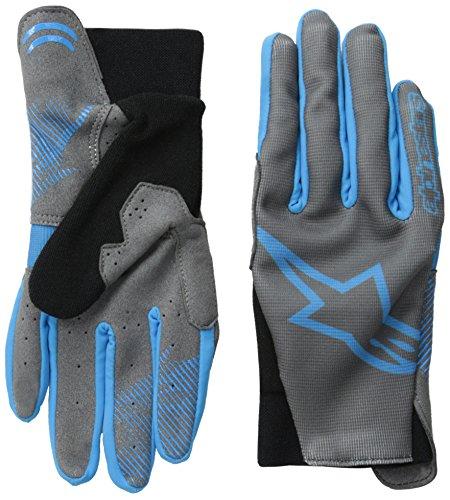 Alpinestars Aero Glove, Large, Steel Gray Bright Blue