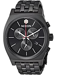 Nixon Mens Star Wars Kylo Quartz Stainless Steel Casual Watch, Color Black (Model: A972SW2444-00)