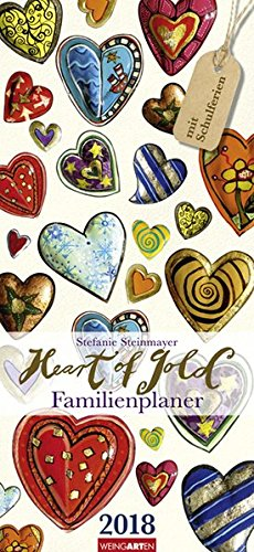 Familienplaner Heart of Gold - Kalender 2018