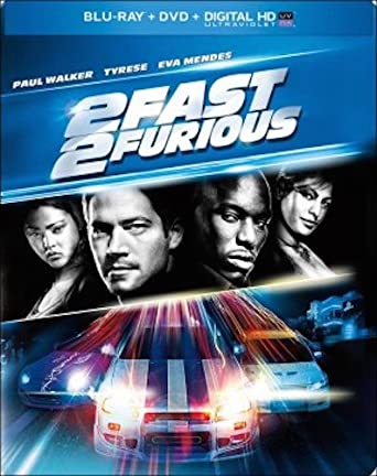 2 Fast Furious Steelbook Blu Ray