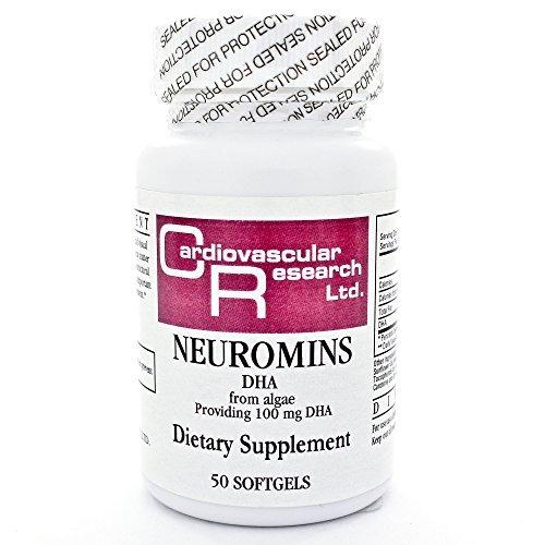 Ecological Formulas, Neuromins DHA 100 mg 50 vgels