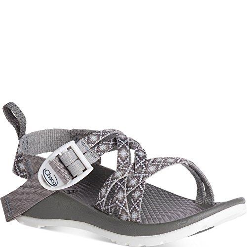 Chaco Unisex ZX1 Ecotread Sport Sandal, Diamond Gray, 1 Medium US Little Kid