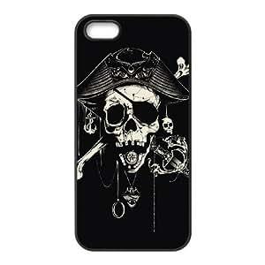 Skull iPhone 5,5S Case Black Yearinspace997170 Kimberly Kurzendoerfer