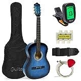 Meda| 38in Beginner Acoustic Guitar Starter Kit