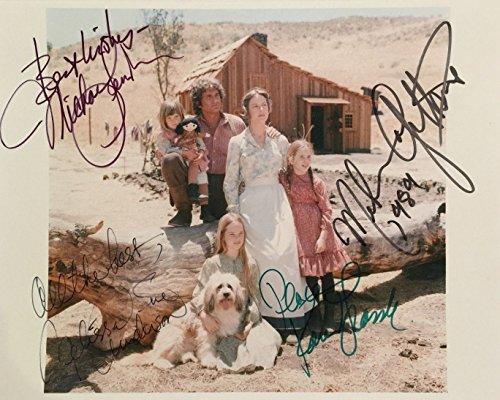 Little Signed - Little House on the Prairie cast signed autographed reprint photo RP Michael Landon