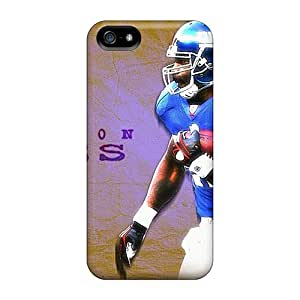 High Quality Hard Phone Case For Iphone 5/5s (fpX10338xcZc) Customized Vivid New York Giants Series