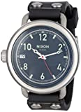 Nixon Men's A488-000-00 October Analog Display Swiss Quartz Black Watch