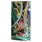 Skin Decal Vinyl Wrap for Sigelei Fuchai 200W TC Vape Mod / Bio Mechanical Metal Color Pattern