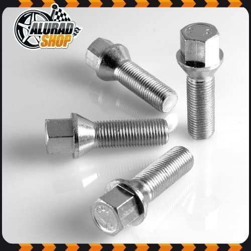 45mm Cone 60/° SW17 16 Wheel Bolts M12x1 5 Shaft Length