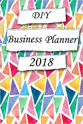 buy diy business planner 2018 create your own planner calendar