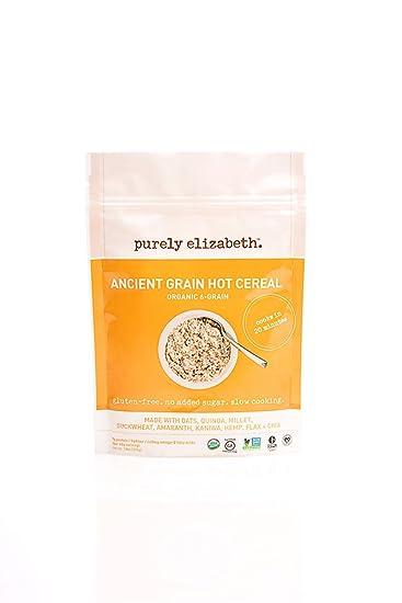 De Purely Elizabeth, envase de harina de avena, de grano ...