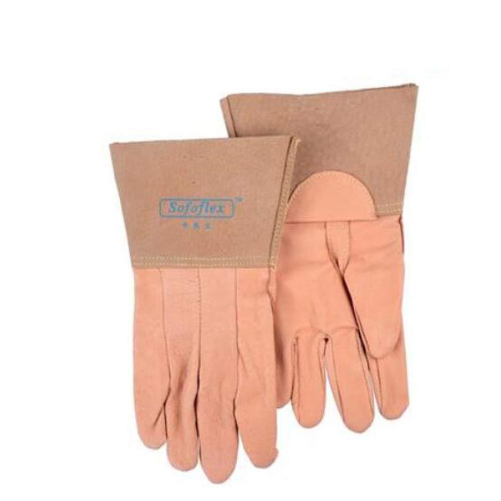 KYCD Gloves Guanti di Saldatura, saldatori di Calore, manodopera termoisolante, Guanti protettivi a Lunga Durata