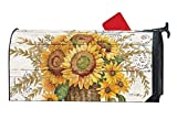 Studio M Fall Outdoor Mailbox Cover MailWrap - Farmhouse Sunflower