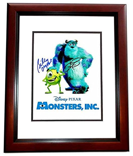 Billy Crystal and John Goodman Signed - Autographed MONSTERS, INC 11x14 inch Photo MAHOGANY CUSTOM FRAME - Mike and Sully - Guaranteed to pass or JSA - PSA/DNA - Sully Frame