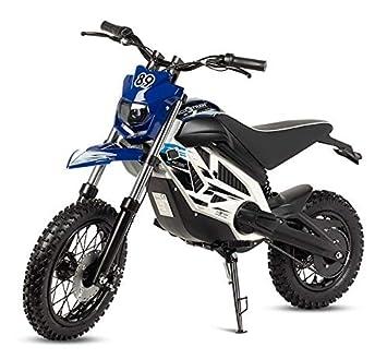 71c3d43d67ab2 VIRTUE Moto electrica Potente Motocross Cross bateria 1000w 36v niños niñas  Infantil Moto CROS Trial  Amazon.es  Deportes y aire libre