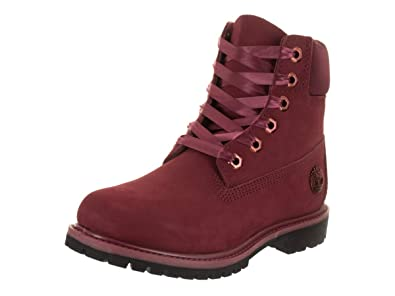 Timberland Womens 6 Inch Premium Boot with Satin Collar