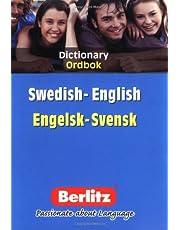 Bilingual Swedish Dictionary Berlitz
