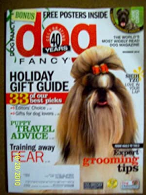 Dog Fancy December 2010 Holiday Gift Guide Training Away Fear Expert