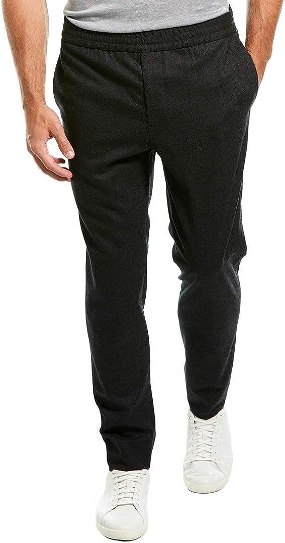 J.Lindeberg Herren Casual Italian Wool Flannel Pant Anzughosen