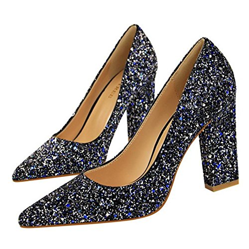 Tacchi VulusValas Blue Scarpe Donna Sposa trwtqc6Ix7