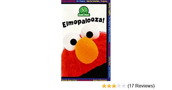 Amazon com: Sesame Street - Elmopalooza! [VHS]: Sesame