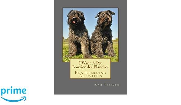20d369dd6b95e I Want A Pet Bouvier des Flandres: Fun Learning Activities: Gail ...