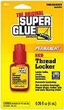 Super Glue Super Glue 15191-12 Permanent Thread Locker, Red, 12-Pack(Pack of 12)