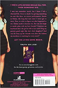 the lying game by sara shepard essay 'the lying game' by sara shepard sutton has the life every girl dreams of—a loving family, plenty of money, and popularity that any girl would kill for and then someone does when she wakes up in a bathtub and realizes she's no longer living, something altogether strange happens she looks in the.