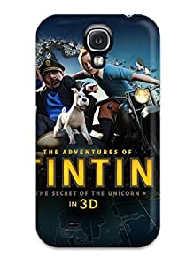 High Quality Shock Absorbing Case For Galaxy S4-the Adventures Of Tintin 3d