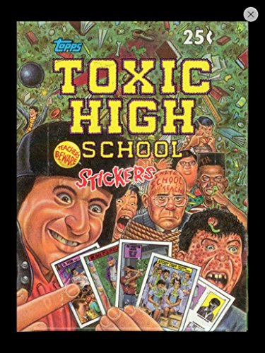 Toxic High Topps Trading Cards Unopened Wax Box 1991 (36) Unopened Packs Topps Non--sport Like Gpk from Topps