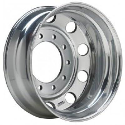 "Accuride Enhanced Finish Aluminum 24.5"" x 8.25"" Wheel (41362ANP) Peterbilt Kenworth - TRP Brand"