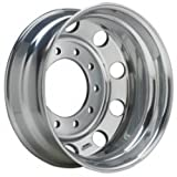 Accuride Enhanced Finish Aluminum 24.5'' x 8.25'' Wheel (41362ANP) Peterbilt Kenworth - TRP Brand