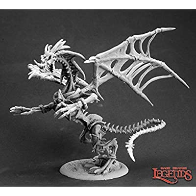 Reaper Miniatures Akar Nakhal, Pharaoh Dragon 03593 Dark Heaven Unpainted Metal: Toys & Games