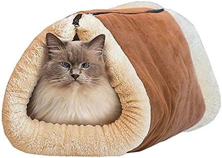Abilieauty, tapete de túnel 2 en 1 para Mascotas, para Invierno ...