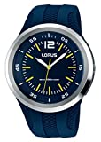 Lorus by Seiko Sports RRX19EX-9 Blue Marine Silicone Watch