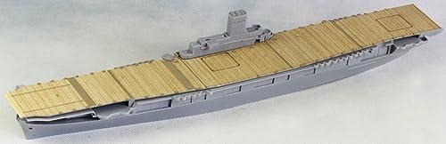 アートウォックスモデル 1/700 アメリカ航空母艦 ワスプ用 木製甲板 エッチングパーツ付 A社715用 プラモデル用パーツ AW20155