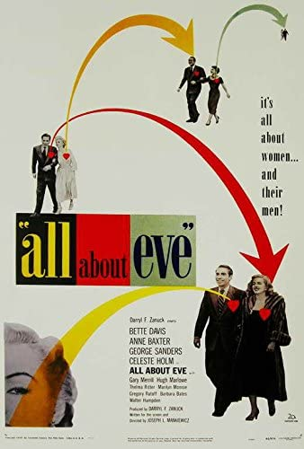 Amazon.com: All About Eve Poster Movie (27 x 40 Inches - 69cm x 102cm) (1950):  Posters & Prints