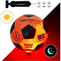 NightMatch Light Up Soccer Ball Kids Edition INCL. BALL...
