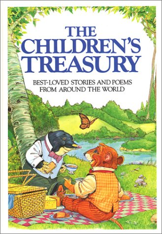 The Children's Treasury: Best Loved Stories and Poems from Around the World (World Poem The Around Christmas)